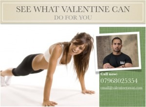 Personal Trainer Leeds, Leeds Personal Trainer, Valentine Rawat Personal Training