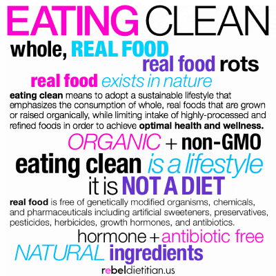clean food, diet advice, eat clean diet, Nutrition, raw food diet