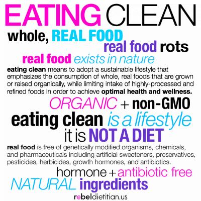 clean food, diet advice, eat clean diet, Nutrition, raw food diet