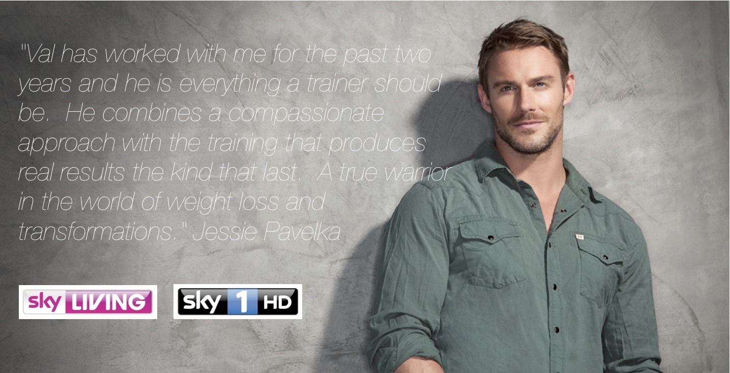 Jesse Pavelka, Personal Trainer Leeds, Sky 1 Personal Trainer,