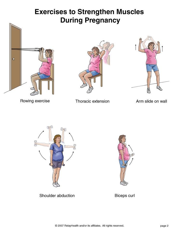 Prenatal exercise